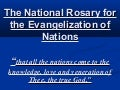 6. National Rosary Prayer