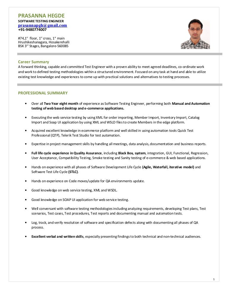 soap ui tester resume  free resume templates