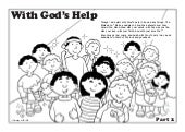 Coloring Book:  With God's Help, Part 2