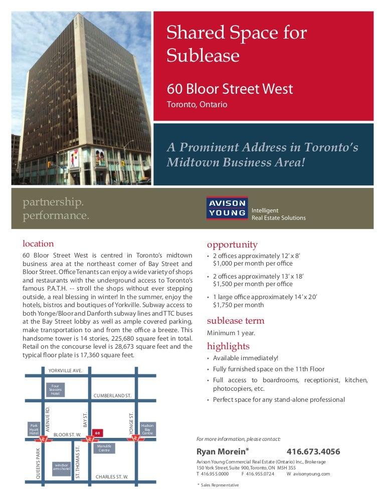 60 bloor street west