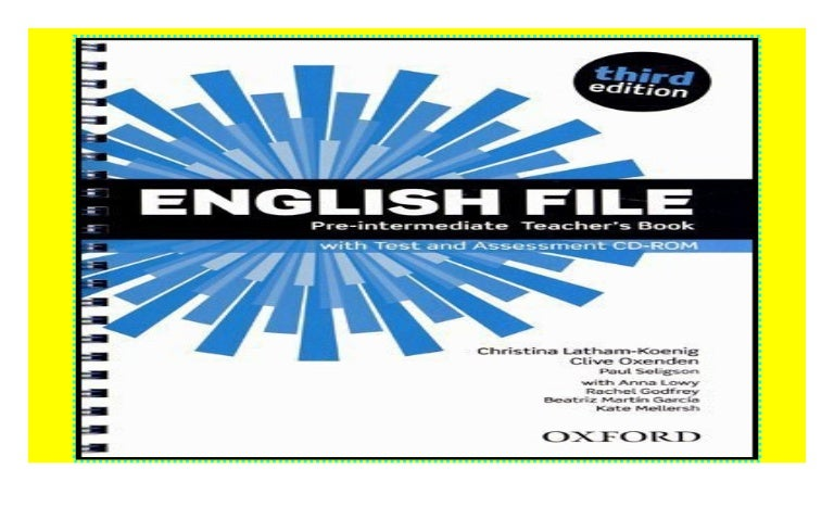 English File Third Edition Pre Intermediate Teacher S Book With Te