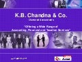 Taxation Services by K.B.Chandna And Co., New Delhi