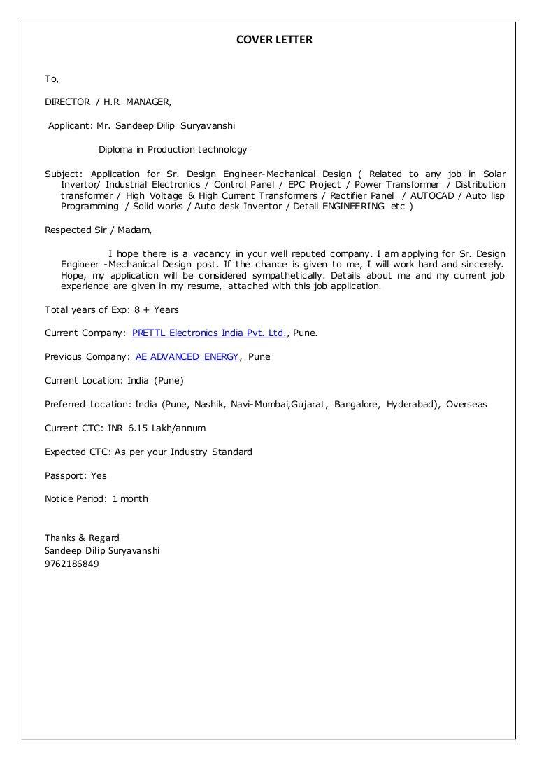 resume mechanical design engineer cover cover letters samples for - Osp Design Engineer Sample Resume