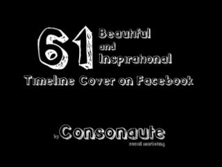 61 Beautiful & Inspirational Timeline Cover on Facebook