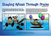 Staying Afloat with Praise