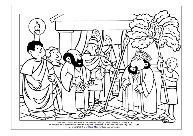 st paul the apostle colouring pages - Google Search | Paul bible ... | 544x768