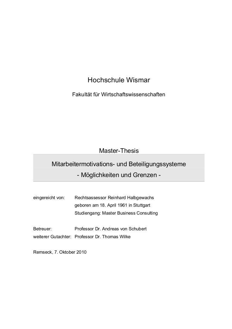 master thesis mitarbeiterbindung