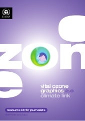 Vital Ozone Graphics 2.0 - Climate Link is a Resource Kit for Journalists