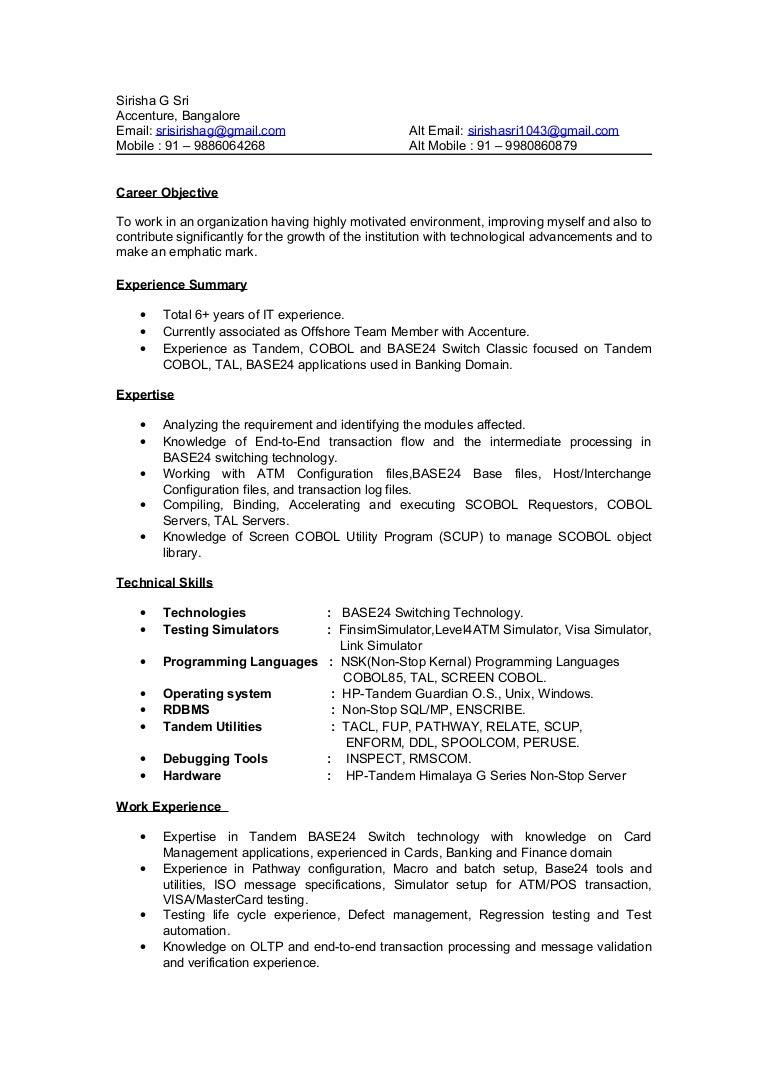 Resume Resume Accenture accenture resume upload deepa updated career opportunities resume