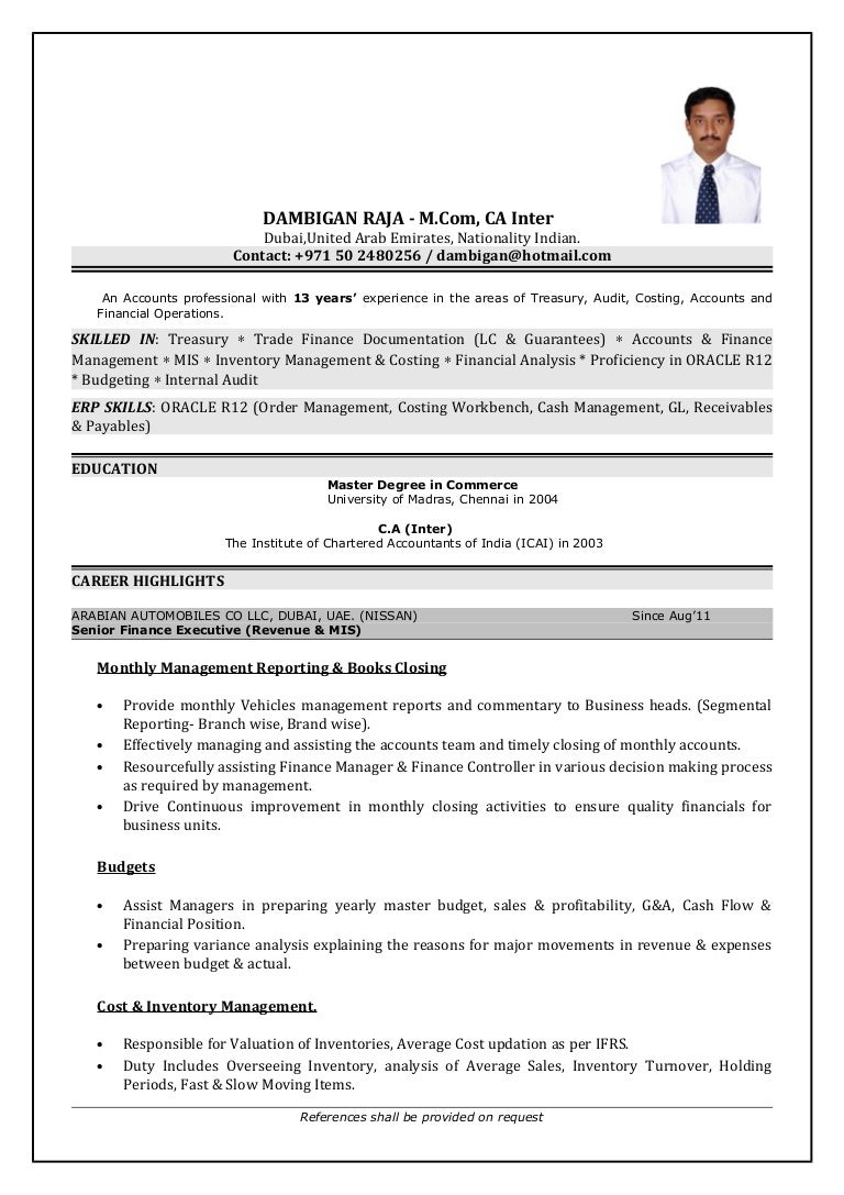 DAMBI CV (2)