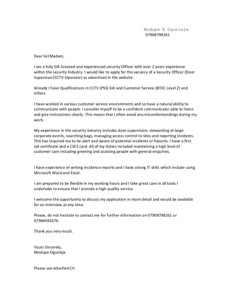"""Door Supervisor Cv & Door Supervisor Cover Letter S&le""""""""sc"""":1""""st ..."""