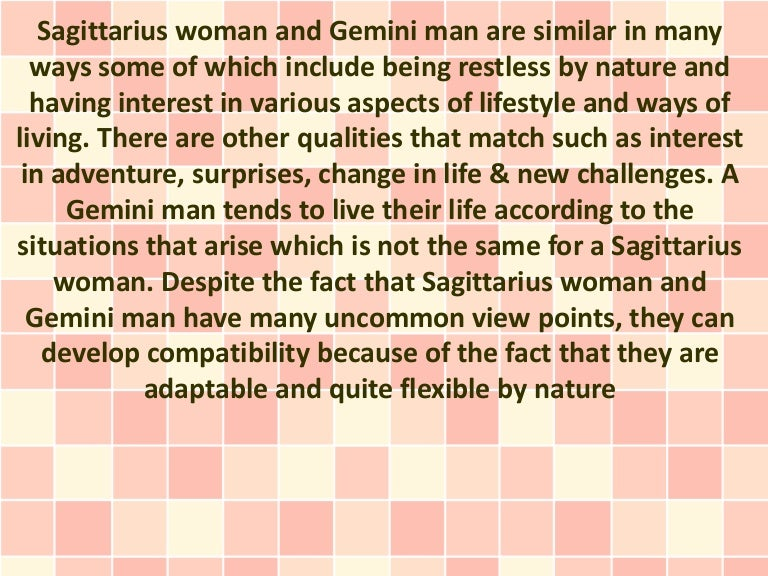 Are gemini and sagittarius sexually compatible