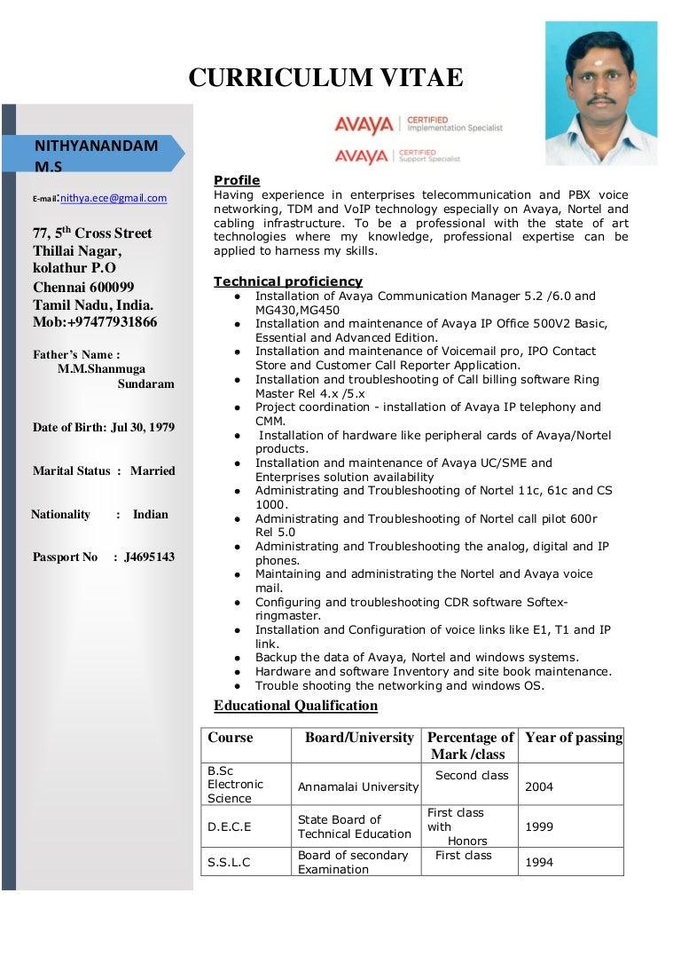 Stunning Avaya Engineer Resume Photos Simple Resume Office