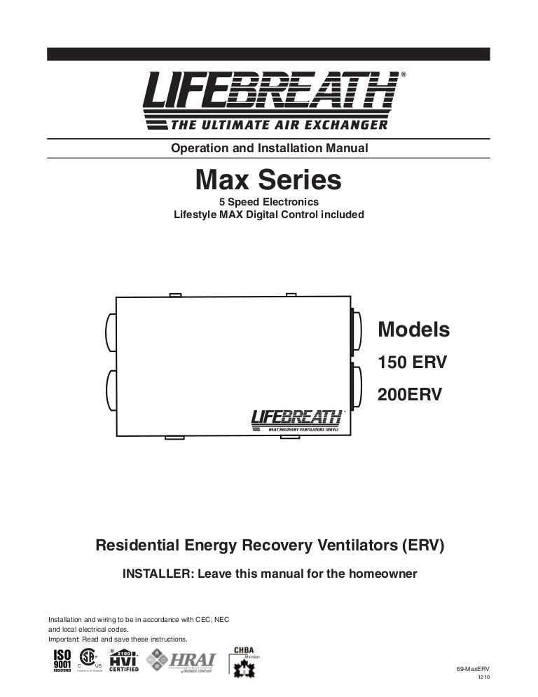 69 maxerv1210 110116072525 phpapp02 thumbnail 4?cb=1295163124 lifebreath operation & installation manual max series 150 200 erv lifebreath hrv wiring diagram at alyssarenee.co