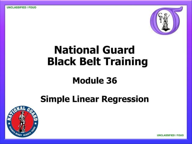 NG BB 36 Simple Linear Regression