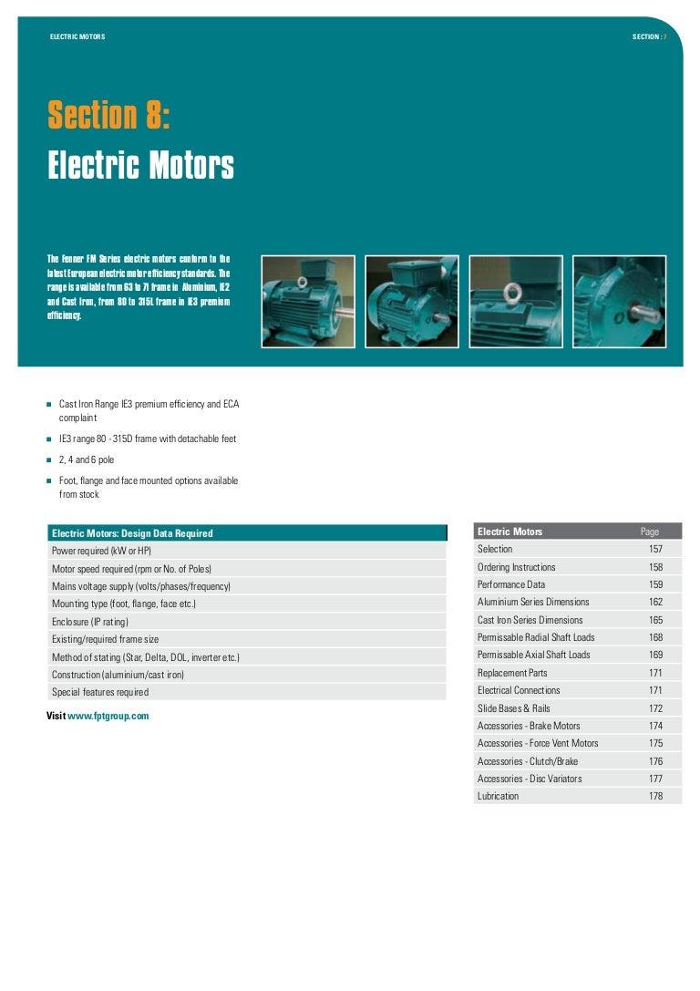 Двигатели серии FM:3 Fenner