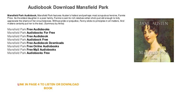 Mansfield park by jane austen pdf download | english novels in.