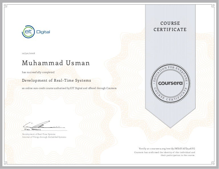 Development Of Real Time Systems