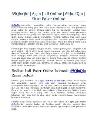 Mafhum Sejarah Dibalik Permainan Poker Online