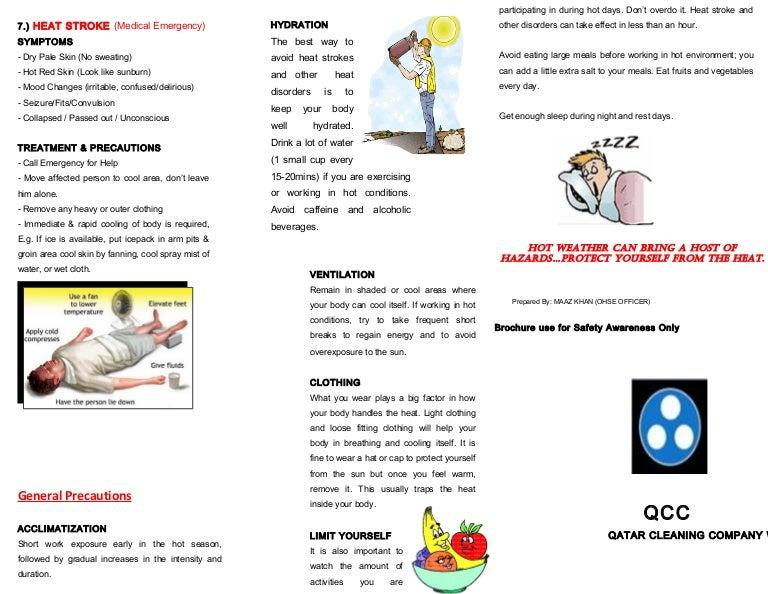 Heat Stress Precautions