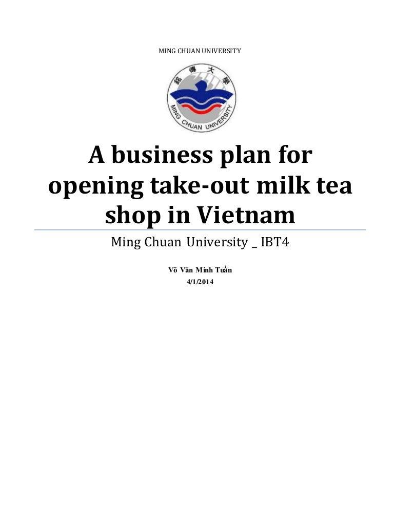 tea business plan