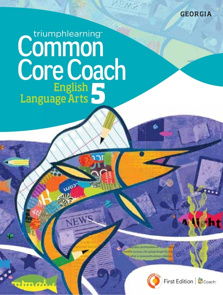 Georgia Common Core Coach CCGPS Edition, English Language Arts, Grade…