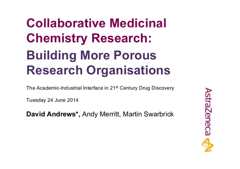 collaborative medicinal chemistry research
