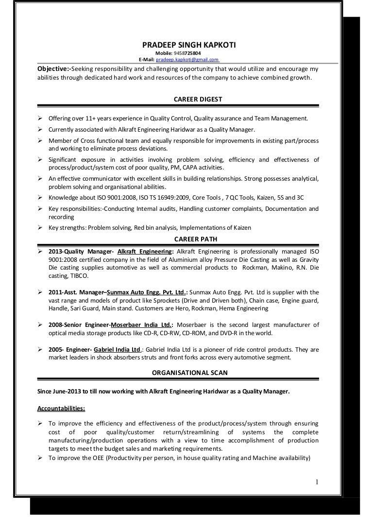 Resume 1betcityfo Gallery