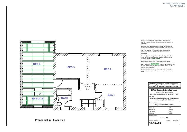 Br05 Proposed Joist Plan