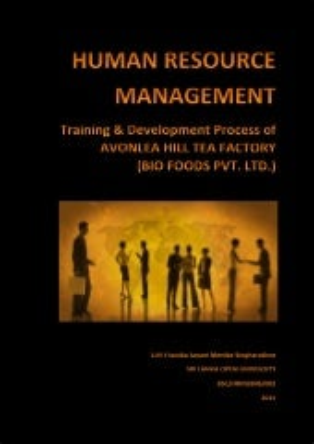 Dissertation training development