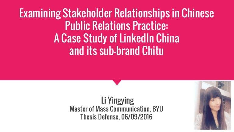 Failing masters thesis defense