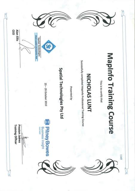 UNISA Academic Record N Lunt