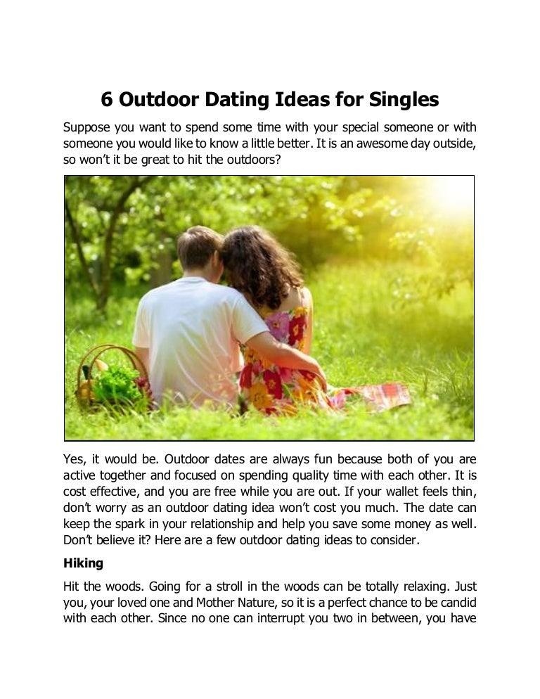 Nature Dating Sites
