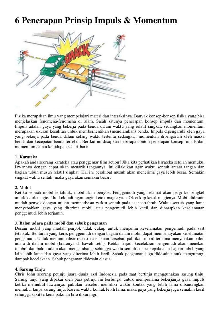 6 Penerapan Prinsip Impuls