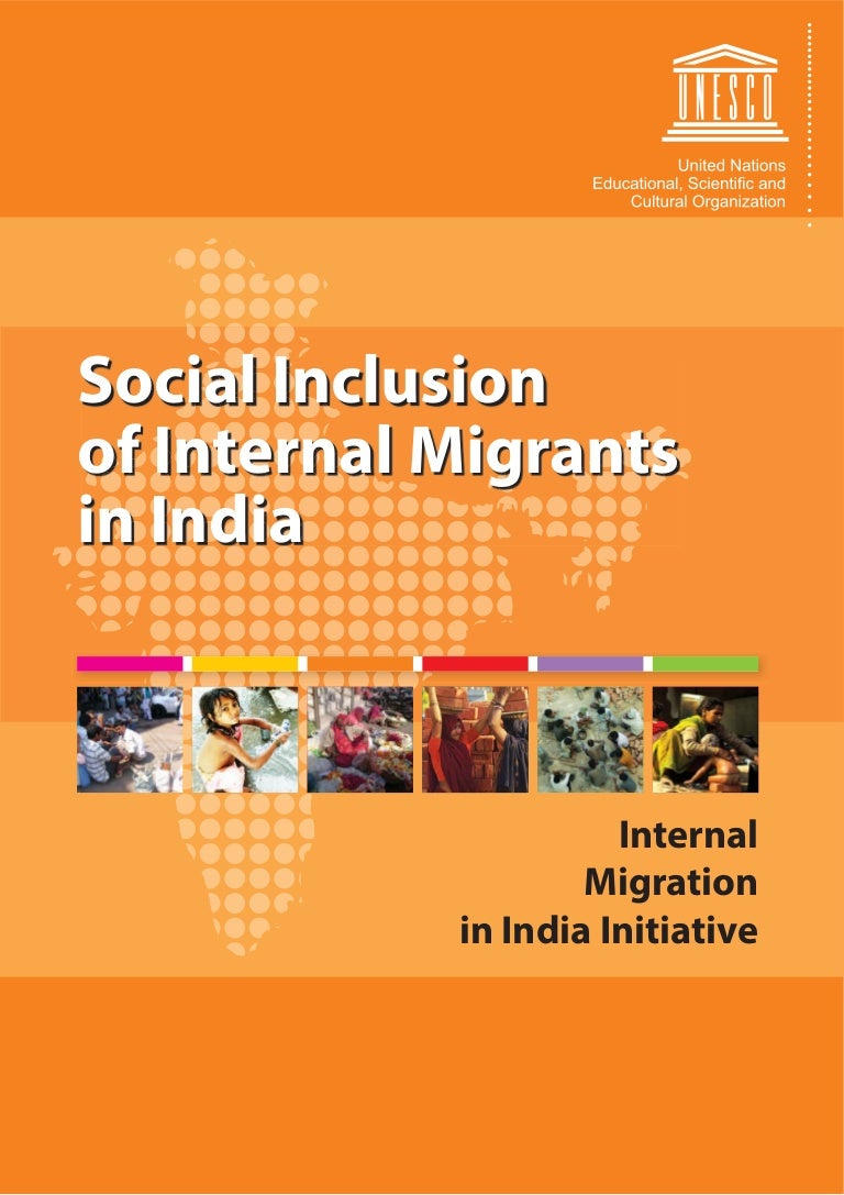 Social Inclusion of Internal Migrants in India