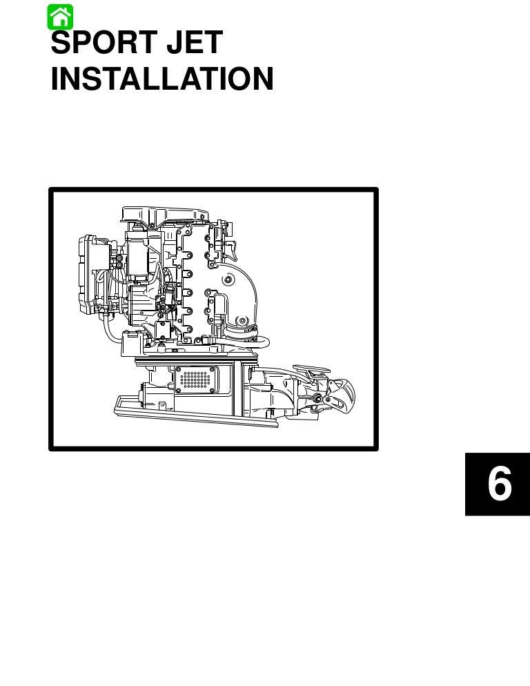 6 sport jet installation – Jet Boat Wiring Diagram