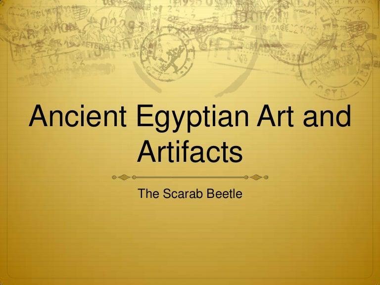 6th Egyptian Scarab