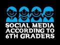 SOCIAL MEDIA ACCORDING TO 6TH GRADERS