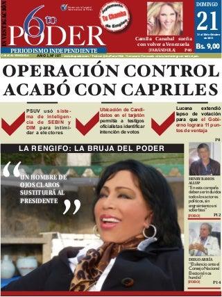 Semanario 6to Poder Edición Nro 107 21DIC2012