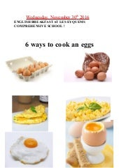 6 ways an cook an eeg