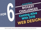 6 web design challenges of 2016