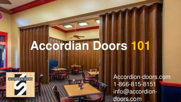 Accordion Doors 101