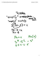 Review of multiplying polynomials