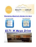Home For Sale From Realty One Group Agents in Westwing Mountain,Scottsdale & Sun City Festival