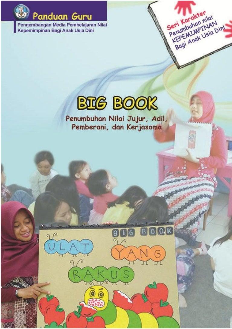 Media Big Book Media Belajar Nilai Kepemimpinan Anak Usia Dini