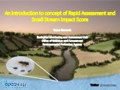 7. Rapid Assessment and Small Stream Impact Score - Bryan Kennedy, EPA