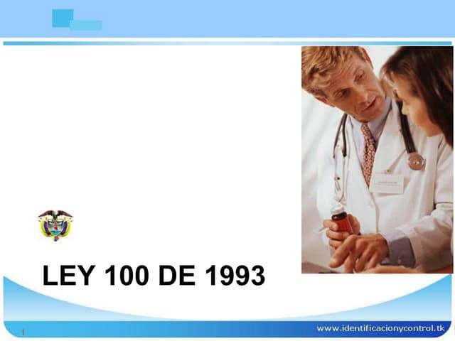 ley-100-de-1993-Colombia