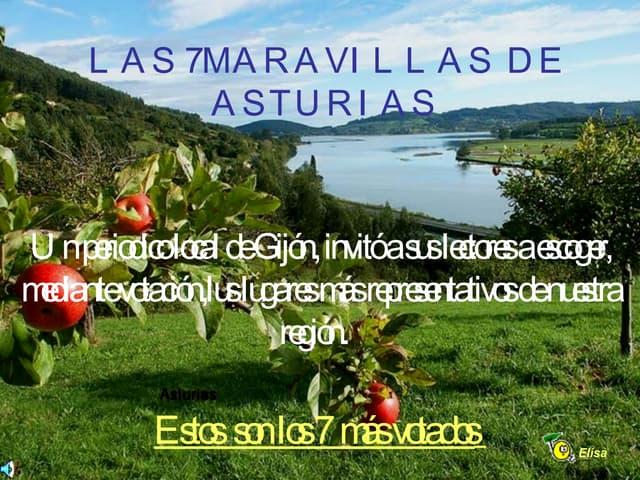 7 Maravillas De  Asturias