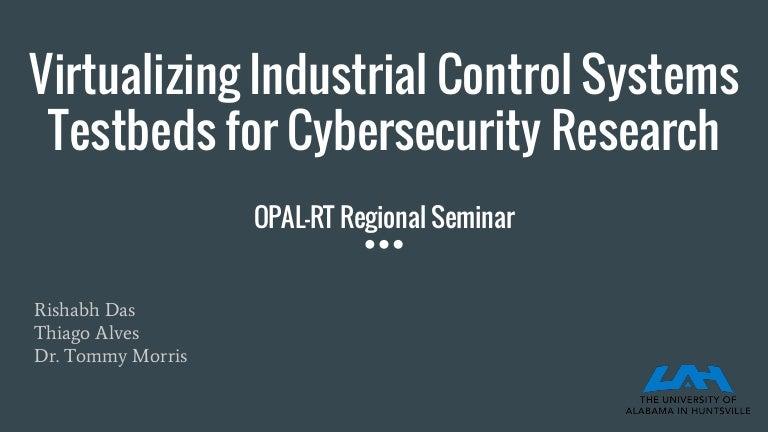 2017 Atlanta Regional User Seminar - Virtualizing Industrial