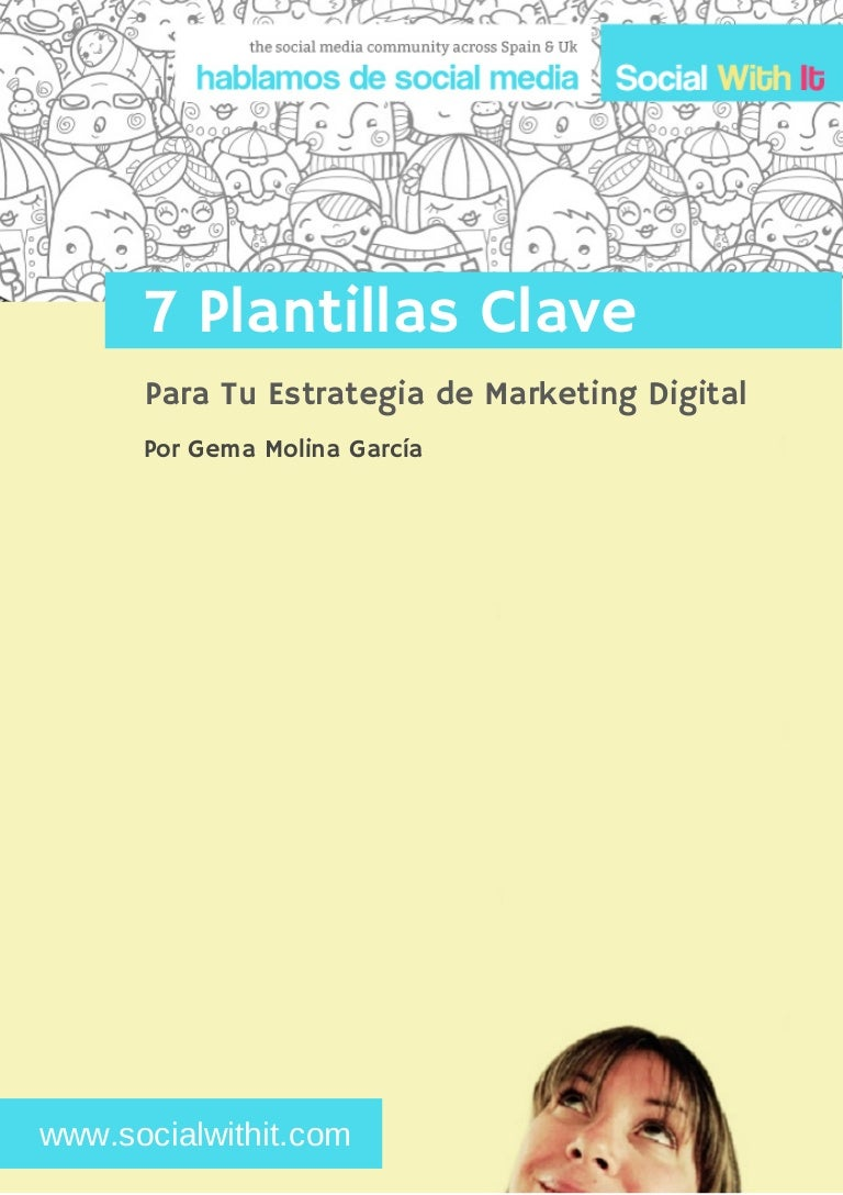 7 plantillas claves: para tu estrategia de marketing digital